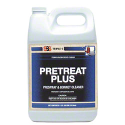 SSS® PreTreat Plus Prespray and Bonnet Cleaner - Gal.