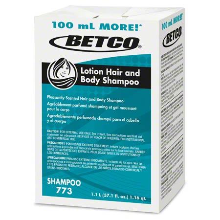 Betco® Lotion Hair & Body Shampoo - 1100 mL