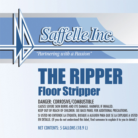 Saffelle The Ripper Floor Stripper - 5 Gal.