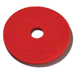 Saffelle Red Spray Buffing Floor Pad - 20""