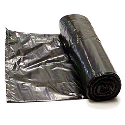 Saffelle Black Hi-Density Roll Liner - 38 x 60, 19 mic