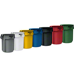 Rubbermaid® BRUTE® Round Containers & Lids