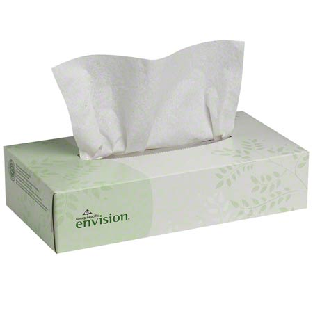 GP Envision® 2 Ply Facial Tissue - 100 ct.