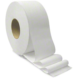 "Von Drehle 1-Ply Jr. Jumbo 9"" Roll Toilet Tissue-3.6""x2000'"