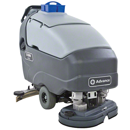 "Advance SC800™ ST34D Walk-Behind Scrubber-34"" Disc, 310AH"