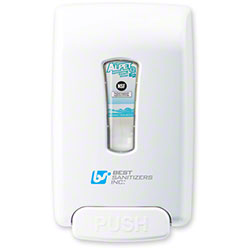 Best Smart-San® Hand Sanitizer Spray Dispenser - White