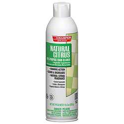 Champion Sprayon® Natural Citrus Foaming Cleaner
