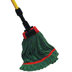 Golden Star® Relintless™ Ribbed Microfiber WetMop-Green