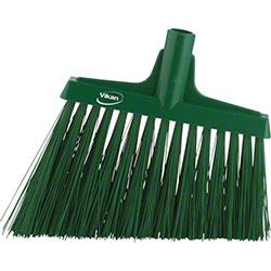 "Remco Vikan® 12"" Extra Stiff Angle Broom - Green"