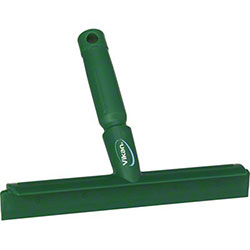 """Remco Vikan® Ultra Bench Squeegee - 10"""", Green"""