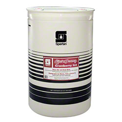Spartan Lite'n Foamy Cranberry Ice Hair & Body Wash -55 Gal.
