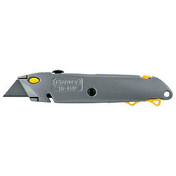 "Stanley® 6 3/8"" Quick Change Retractable Utility Knife"