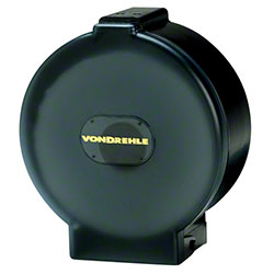 "Von Drehle 10"" Single Jr. Jumbo Roll Tissue Dispenser -Black"