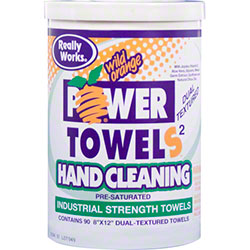 "aero® Really Works® Hand Cleaning Power Towels - 8""x12"""