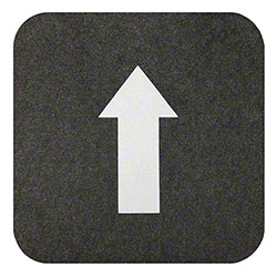 "M + A Matting Sure Stride® Directional Mat - 17"" x 17"", Grey"