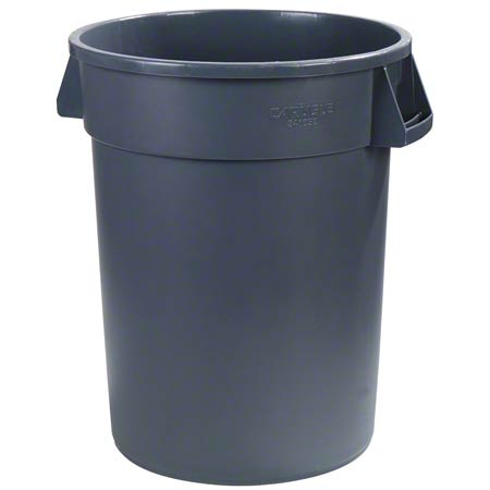 Carlisle Bronco™ Round Waste Container - 44 Gal., Grey
