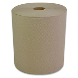 "Carolina Natural Hardwound Roll Towel - 8"" x 800'"