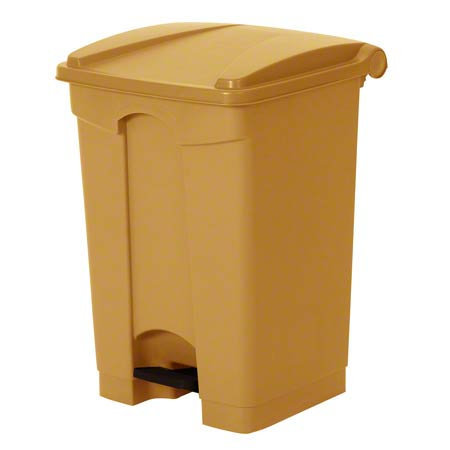 Continental Step-On Receptacle - 18 Gal., Beige