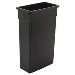 Continental Wall Hugger™ 23 Gal. Receptacle - Black