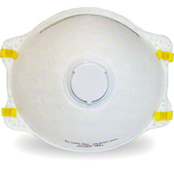 Safety Zone NIOSH N95 Rated Mask w/Exhale Valve