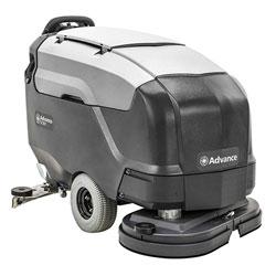 """Advance SC901 X28D Walk-Behind Scrubber - 28"""" Disc, 242AH"""