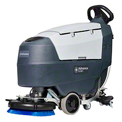 "Advance SC401 Traction Drive Automatic Scrubber - 17"", 105AH"