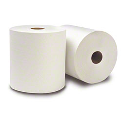 """WausauPaper® EcoSoft™ Roll Towel -7.5""""x800', Nat. White"""