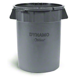 delamo® Dynamo 32 Gal. Trash Can - Gray
