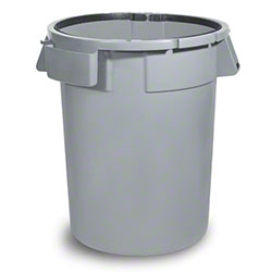 delamo® Dynamo 44 Gal. Trash Can - Grey