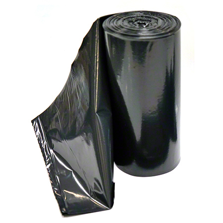 Low Density Coreless Can Liner - 40 x 46, 1.5 mil, Black