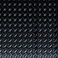 Crown Industrial Deck Plate Mat - 3' x 5', Black