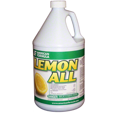 American Formula Lemon All 1 Disinfectant Cleaner - Gal.