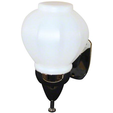 Impact® Deluxe Globe Soap Dispenser - Translucent/Chrome