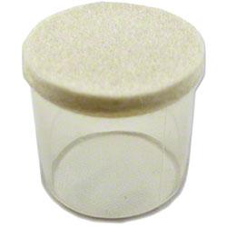 Flexi-Felt® Clear w/White Felt Floor Protection