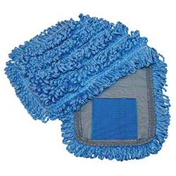 "Microfiber & More 18"" Tab Mop - Blue/Blue"