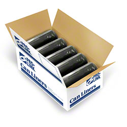 PRO-LINK® ThickSkins™ Black LLD Coreless-24x32, 1 mil