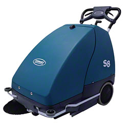 "Tennant S8 Sweeper - 28"", w/Battery & On-Board Charger"