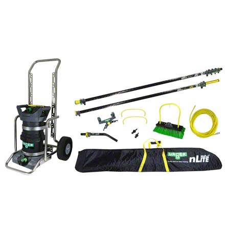 Unger® Hydropower Advanced 33' Kit w/Cart