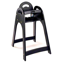 Koala Kare Designer High Chair - Black