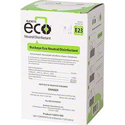 Buckeye® Eco® E23 Neutral Disinfectant - 1.25 L