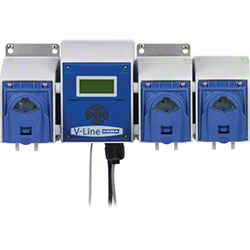 DEMA® V-Line Complete w/3 J-Pumps, John Guest, EPDM