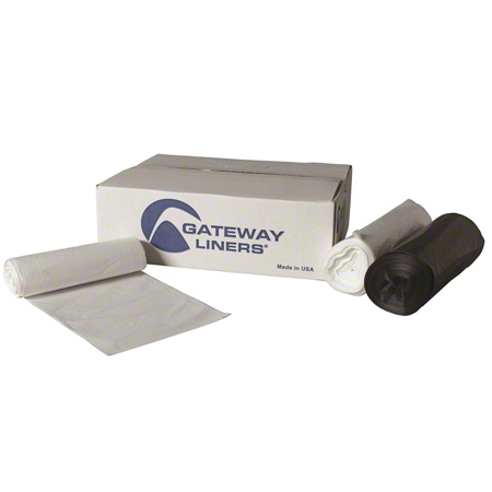 Gateway Liners® LL Density Roll - 24 x 32, 0.9 mil, Black