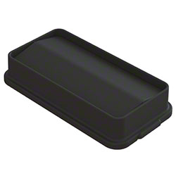 Impact® Swing Lid For 23 Gallon Slim Container - Black