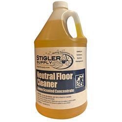 Stigler Neutral Floor Cleaner - Gal.