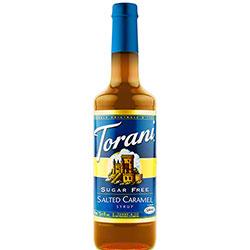 Torani® Sugar Free Salted Caramel Syrup - 750 mL