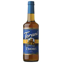 Torani® Sugar Free S'Mores Syrup - 750 mL
