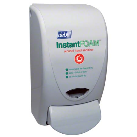 Deb® 1 L Curve InstantFOAM™ Alcohol Sanitizer Dispenser