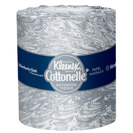 KC Kleenex® Cottonelle® Standard Bathroom Tissue - White