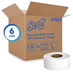"Scott® Essential Jumbo Roll Tissue - 3.55"" x 2000', White"