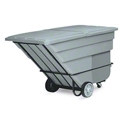 Rubbermaid® 1 1/2 cu yd. Tilt Truck - Heavy Duty, Gray